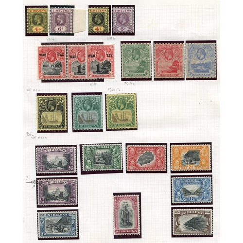 1498 - 1861 6d Perf 16 unused (thin), 1864-80 5s, 3d (2), 2d, 1d (4), 1884-94 vals to 1s, 1890-97 to 10d M,...
