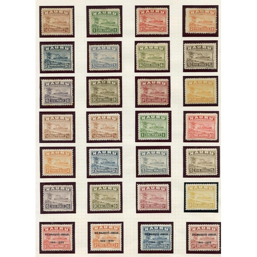 151 - BRITISH COMMONWEALTH collection in album (mainly M) with Cook Islands early vals to 1s, KGV to 1s, 1...