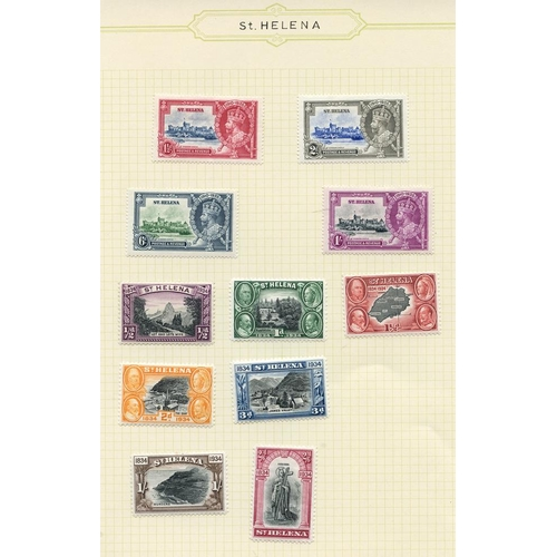 1511 - 1935-67 fine M collection on leaves incl. 1934 Centenary set (excl. 6d) to 2/6d, 1935 Jubilee set, 1...