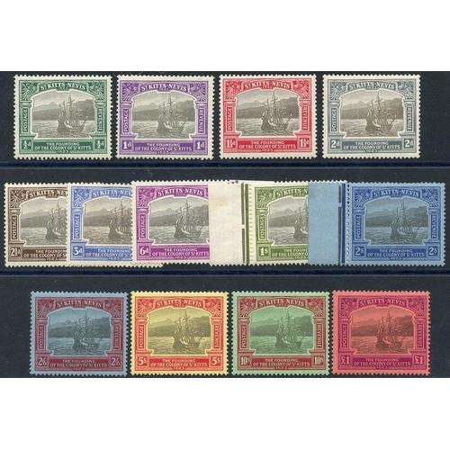 1518 - 1923 Tercentenary set, fresh M, SG.48/60 (13) Cat. £1200...