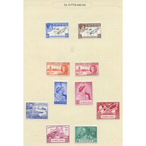 1519 - 1935-67 fine M collection on leaves incl. 1935 Jubilee set, 1938-50 KGVI Defin set incl. perf variat...