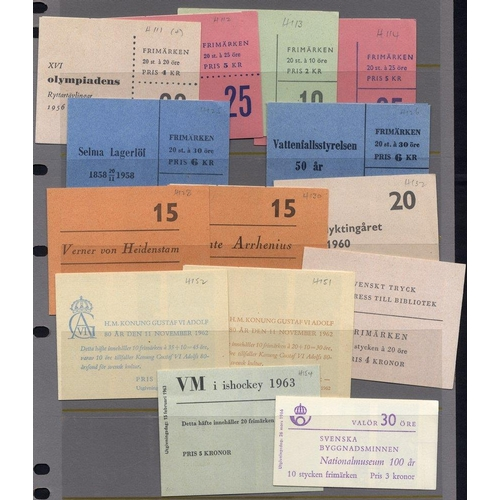 1553 - 1956-80 collection of stamp booklets (182) mostly different. High face value....
