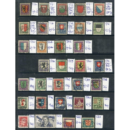 1560 - 1915-62 collection of Pro-Juventute, good to FU - many sets (187) ST.Cat. £1300, also a selection of...
