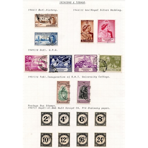 1590 - 1937-51 KGVI VFU range incl. 1938 set, 1947 Dues, 1948 Wedding etc. (39) Cat. £274...