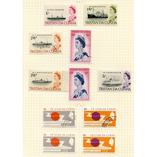1593 - 1953-90 M & VFU collection housed in a Simplex album. Defin sets are generally short sets (both M & ...