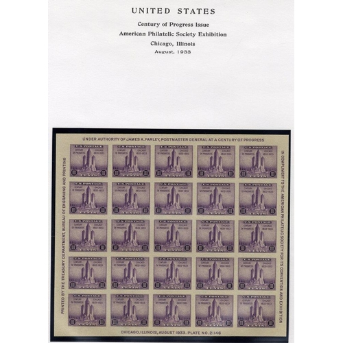1603 - 1857-1940 M & U collection on printed leaves, highlights incl. 1893 Columbian $1 VFU, 1902 $1, 1927 ...