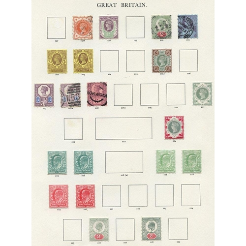 1651 - 1840-1969 COLLECTION of M & U in a Windsor album from 1840 1d & 2d (faults), 1841 1d (6), another un...