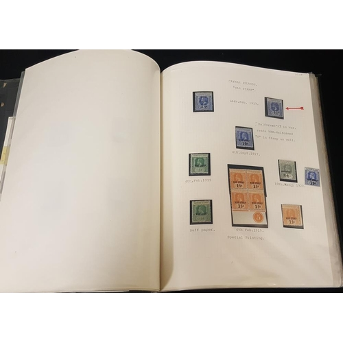 177 - COMMONWEALTH WAR STAMPS collection in album, comprehensive range of most countries, mainly M & with ...