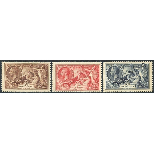 1996 - 1934 Re-engraved set, fine M, SG.450/452....
