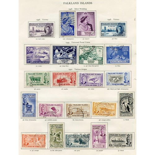 201 - FALKLAND ISLANDS & F.I.D 1937-52 complete (92) Cat. £508...