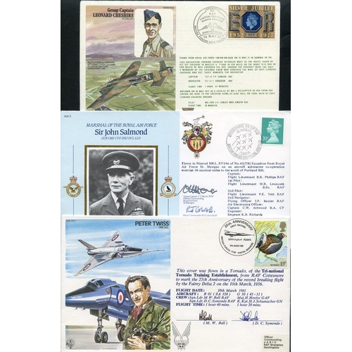 2033 - RAF MUSEUM COVERS or similar collection of 147, each signed or with multiple signatures commemoratin...