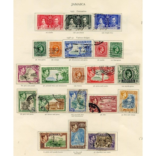 209 - IRELAND (54) virtually complete incl. Av examples. JAMAICA (40) complete. Cat. £500+...