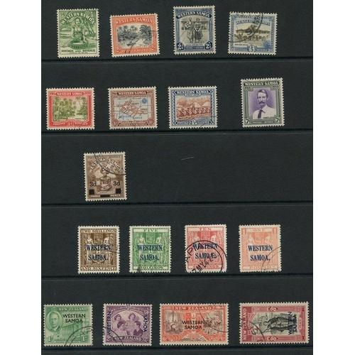 237 - SAMOA 1939-46 complete. (17) Cat. £320...