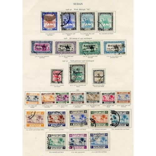 245 - SUDAN 1936-51 complete. (130) Cat. £780...