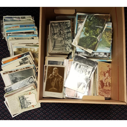 274 - MISCELLANEOUS ACCUMULATION of mainly topographical cards. (2200+)...