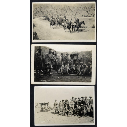 280 - MISCELLANEOUS range incl. Military - small collection of postcard size photographs of 2nd Battle of ...