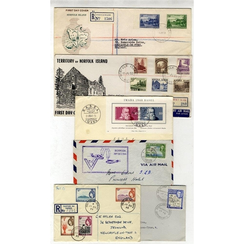 309 - AUSTRALIA & ALL WORLD c1940's - later, many Australia illustrated FDC's incl. Scout Jamboree, 1956 S...