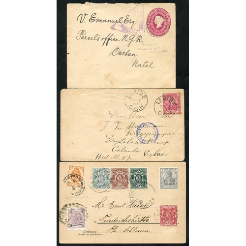 313 - BRITISH AFRICA 20thC fine group of interest (all areas) with covers & postal stationery incl. 1900 1...