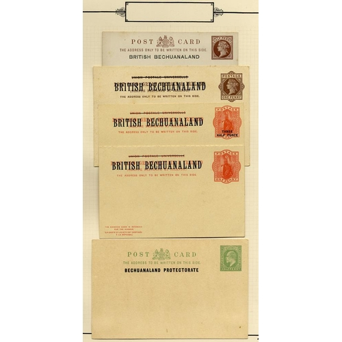 316 - BRITISH COMMONWEALTH postal stationery selection of 53 items, 48 from British Territories - noted Br...