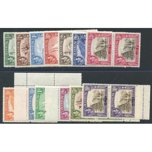 363 - 1939 KGVI Defin set in UM vertical pairs, SG.16/27 incl. several marginals. (26) Cat. £240...