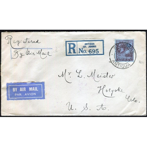 374 - 1890-1912 selection of covers & cards incl. 1921-29 2s & 4s U on separate covers, registered to USA ...