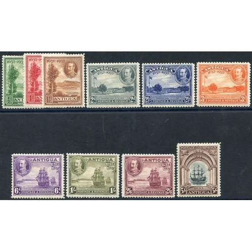 379 - 1932 Tercentenary set, fine M, SG.81/90 (10) Cat. £225...