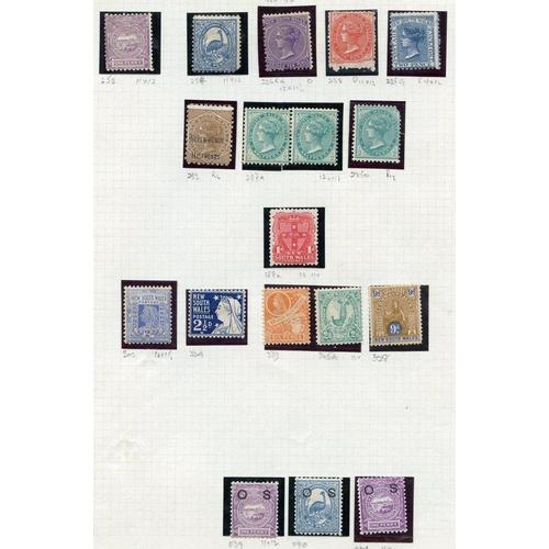 389 - AUSTRALIAN STATES M ranges from NSW (18), Queensland (24), S. Australia (8), Tasmania (21), Victoria...