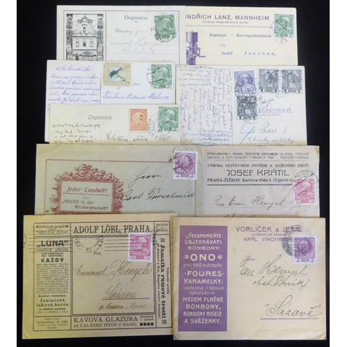 439 - 1908-16 Jubilee issue covers & cards with an interesting range of cancellations incl. attractive adv...