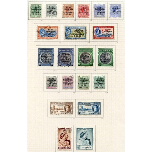 456 - 1937-52 collection U on philatelic leaves, basic stamps complete plus some extras incl. 1938 £1 & La...