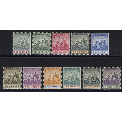 479 - 1892-1903 CCA set M, SG.105/115. (11) Cat. £250...