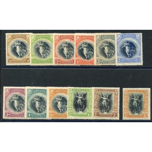 485 - 1920 Victory set M, SG.201/212. (12) Cat. £150...