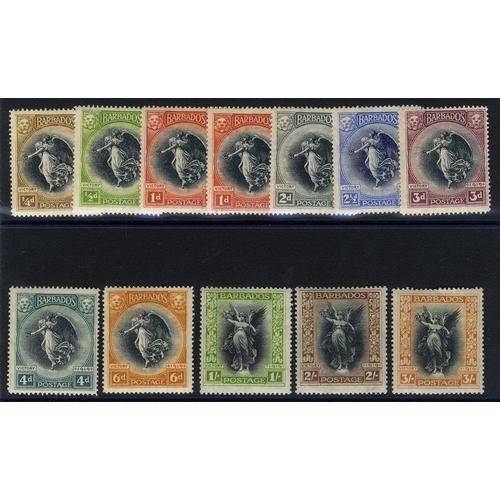 487 - 1920 Victory set, fine M, SG.201/212. (12) Cat. £150...