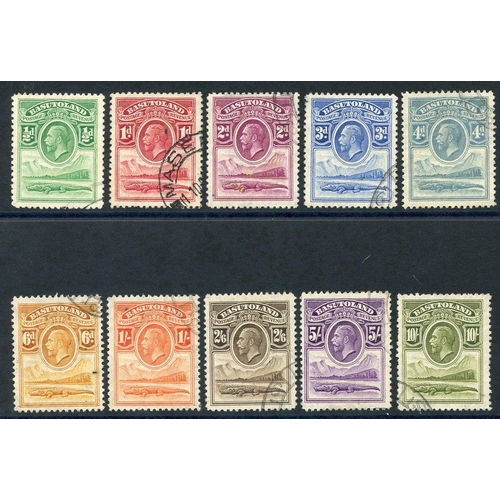 490 - 1933 Defin set VFU (10s some blunt perfs) SG.1/10. (10) Cat. £375...