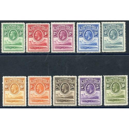 491 - 1933 MSCA set, fine M, SG.1/10. (10) Cat. £275...