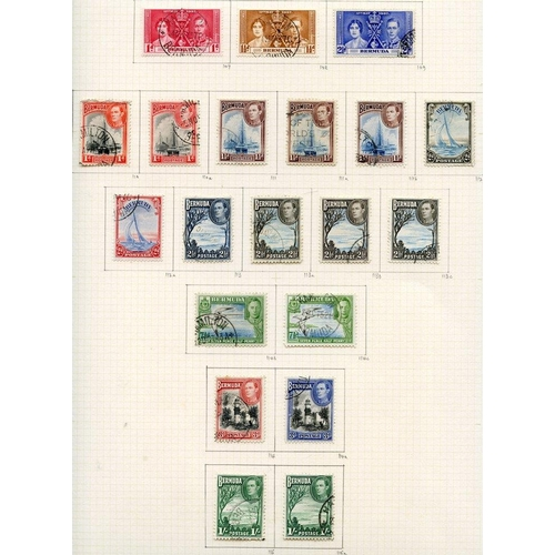 514 - 1937-52 collection U on philatelic leaves, the value being principally in the key types with a lovel...