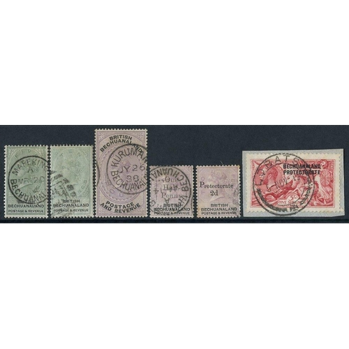 528 - 1885-1954 collection neatly mounted on pages with the basic issues almost complete for the period in...