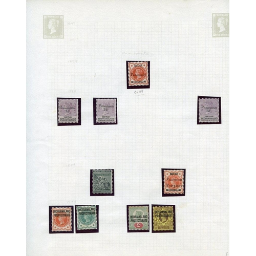 529 - 1886-1952 M collection on leaves incl. 1891 to 1s, 1888 6d on 6d, 1889 4d on ½d, KEVII to 1s, KGVI 1...