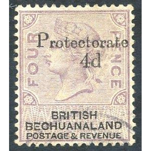 530 - 1888 4d on 4d lilac & black FU, SG.44. Cat. £500...