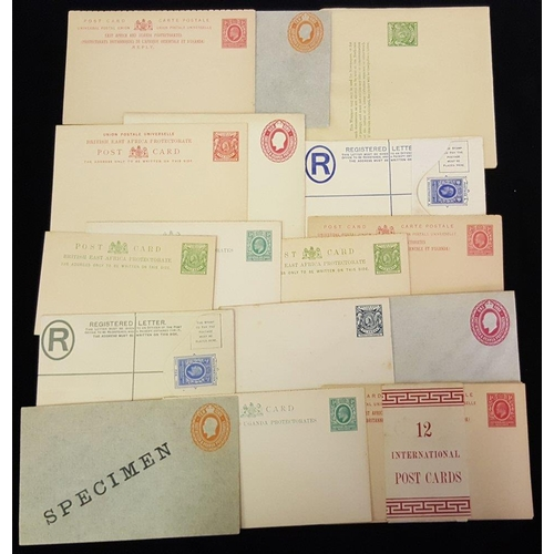 532 - QV, KEVII & KGV range 29 items of unused postal stationery incl. postcards, wrappers, envelopes, inc...