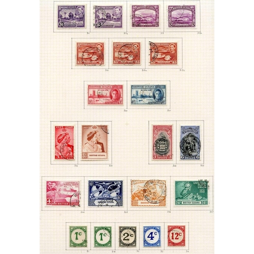 542 - 1937-52 collection U on philatelic leaves with all shades & perfs, a nice range with the 'good' $1 n...
