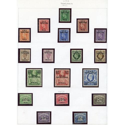557 - SOMALIA 1948 set UM, 1950 set M, Tripolitania 1948 set M, 1950 set M, 1951 set M, 1948 Postage Due s...