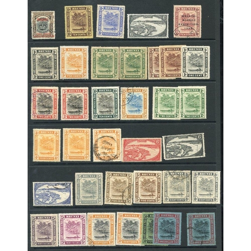 564 - 1906-70 M & U range on hagner leaf incl. 1906 2c on 3c U, Canoe defins various vals to $1 M & $1 (th...