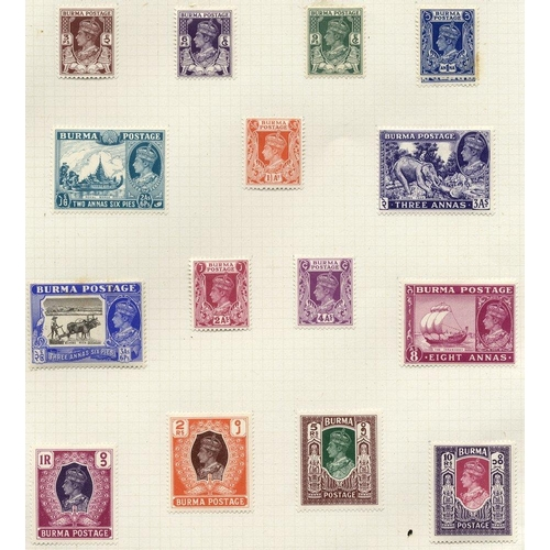 571 - 1937-47 M & U collection on leaves incl. 1938 vals to 2r M, 1938 set U, 1946 set M, another set (exc...