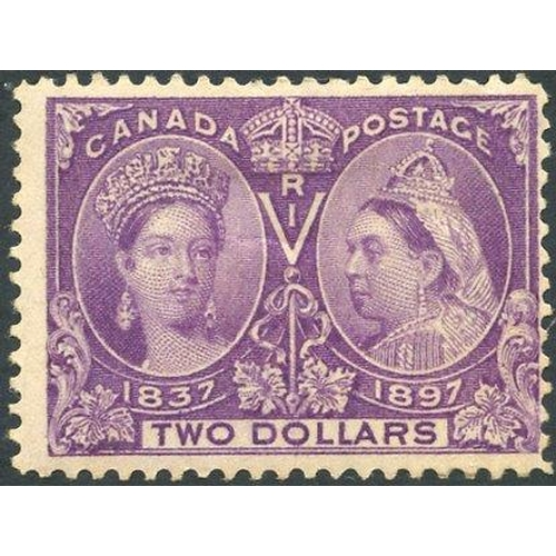 579 - 1897 Jubilee $2 deep violet, M (centred to right), SG.137. (1) Cat. £1000...