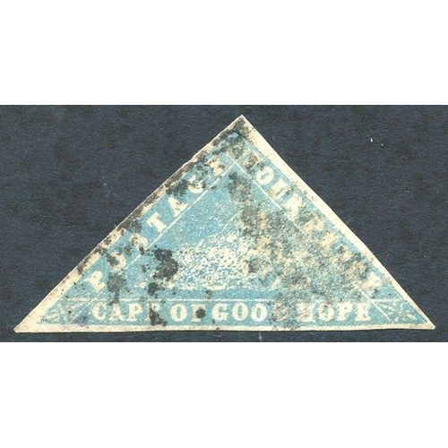594 - 1861 4d Woodblock, U example (three good margins), SG.14....