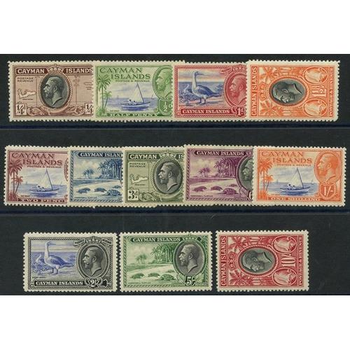 597 - 1935 Pictorial Defin set M, SG.96/107 (12) Cat. £200...