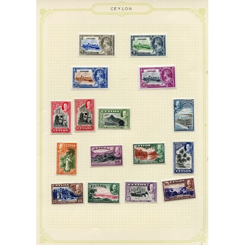 601 - 1935-67 predominantly M collection on leaves incl. 1935 Jubilee set, 1935 Pictorial Defin set, 1938-...