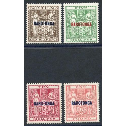 631 - 1931-32 Postal Fiscal set M, SG.95/8. (4) Cat. £198...