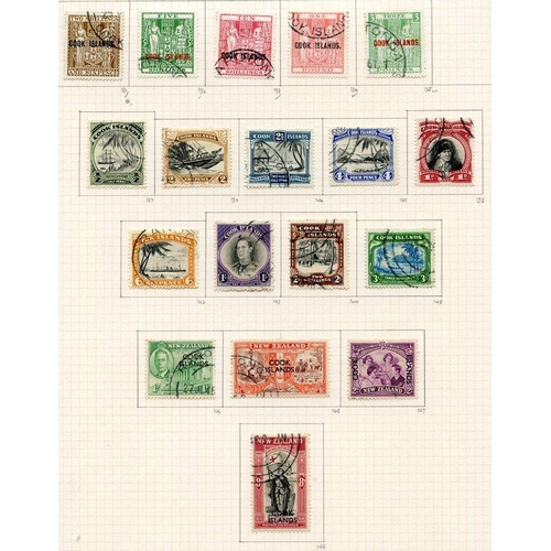633 - 1936-49 collection U on philatelic leaves with 1936 2s & 3s, single wmk 2/6d, 1938 1s, 2s & 3s. Mult...