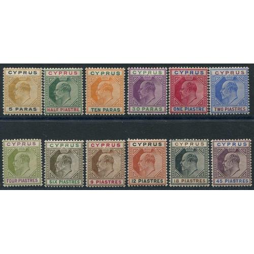 640 - 1904-10 MCCA set, fine M, SG.60/71. (12) Cat. £350...